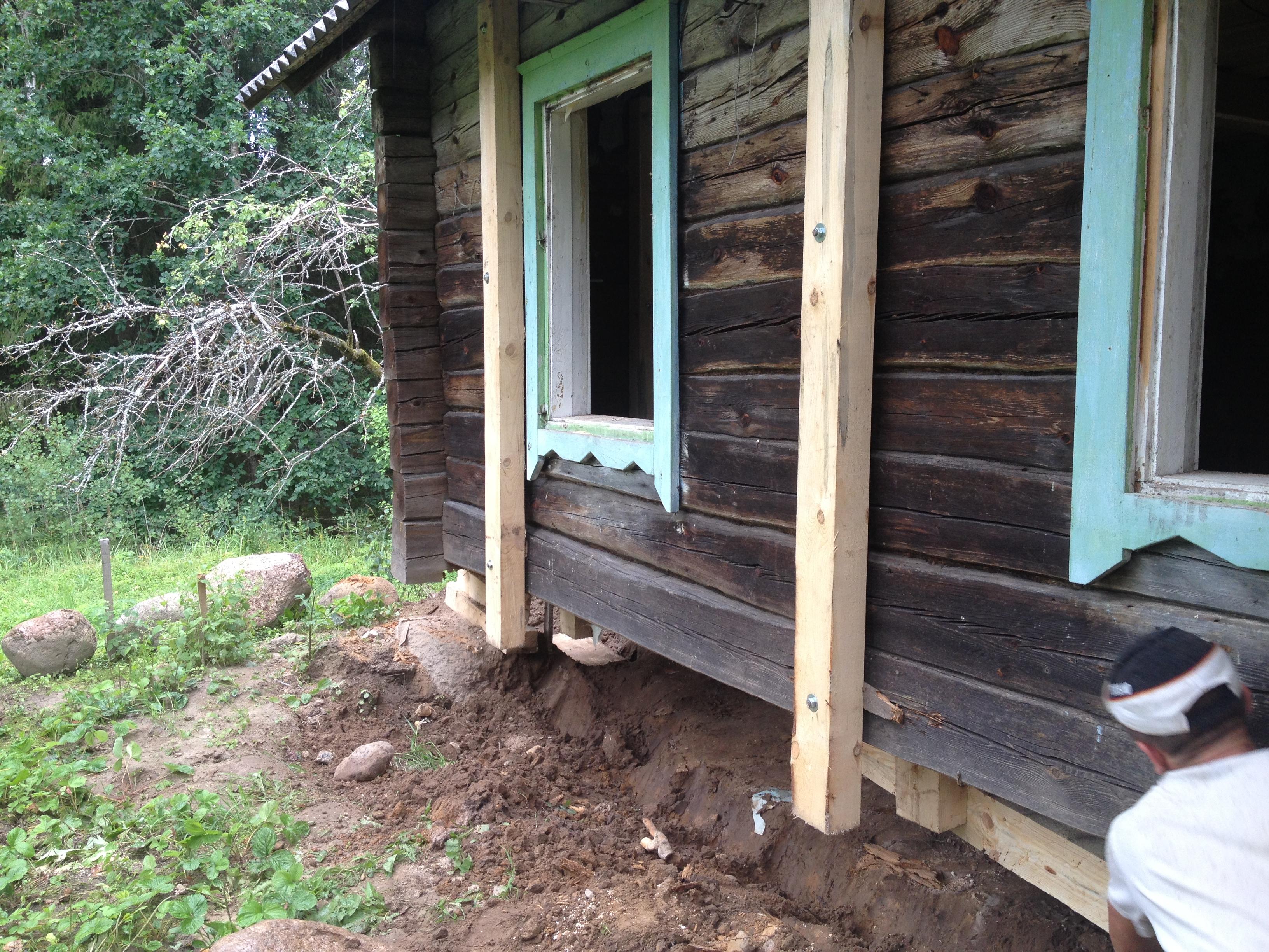 Как утеплить завалинку в деревянном доме - FORUMHOUSE 43